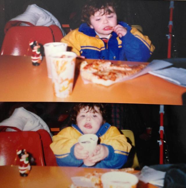 Roman on an eat fest