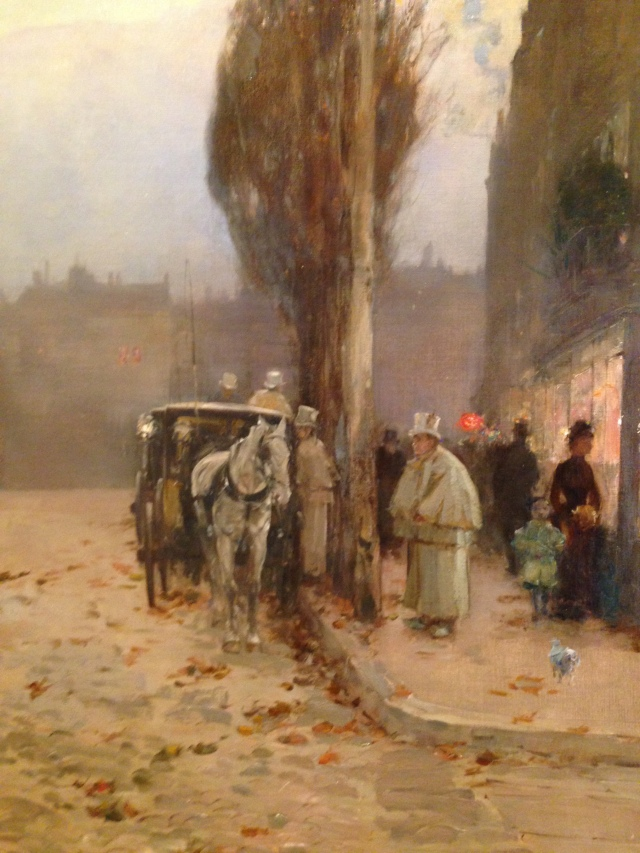 Childe Hassam Paris at Twilight