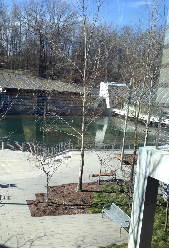 Crystal Bridges grounds