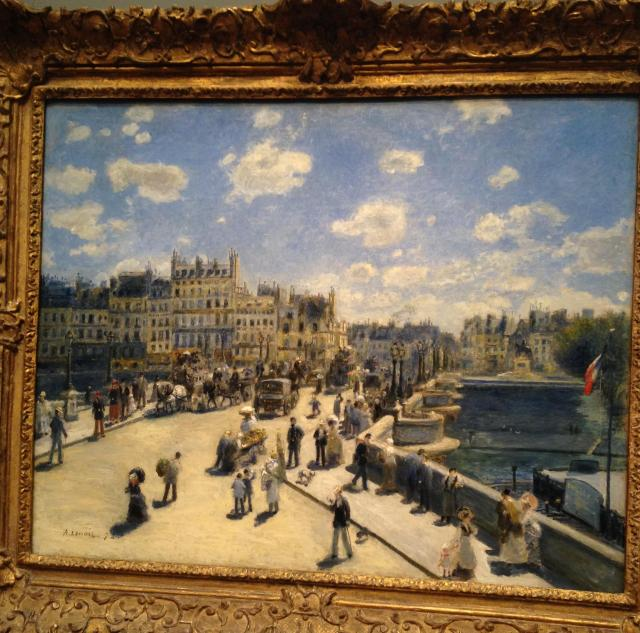 Monet's Pont Neuf full size