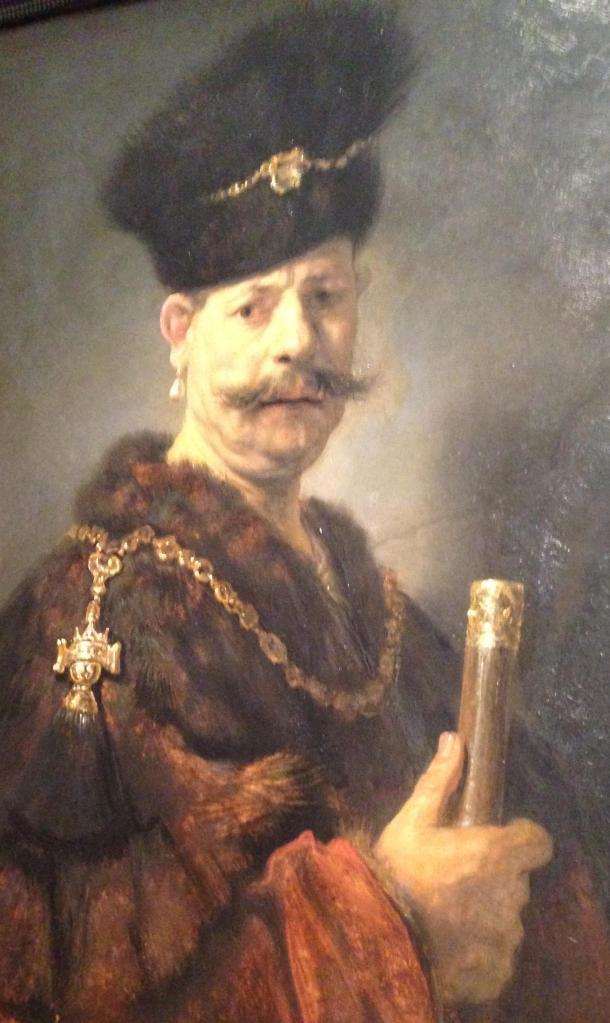 Rembrandt's A Polish Nobelman