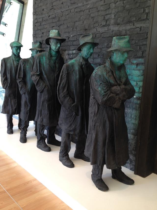 sculpture at Crystal Bridges Museum