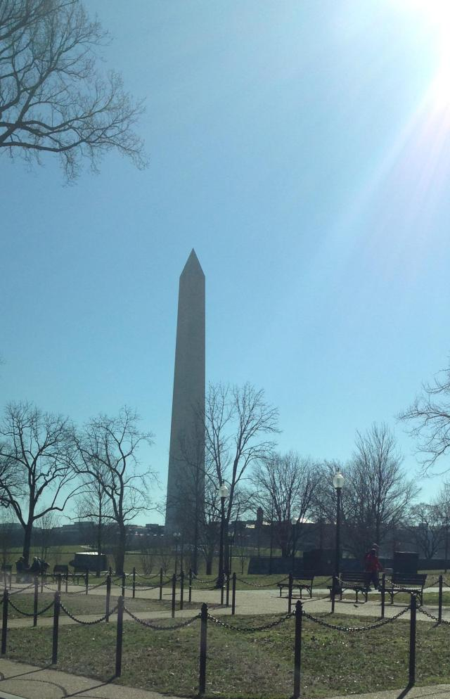 The trip to DC is always monumental