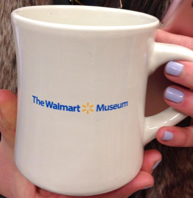 The walmart museum mug for the ultimate tourist