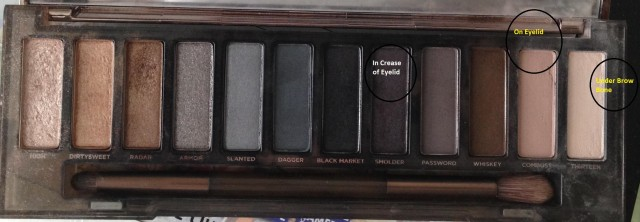 UD Naked Palette in Smoky