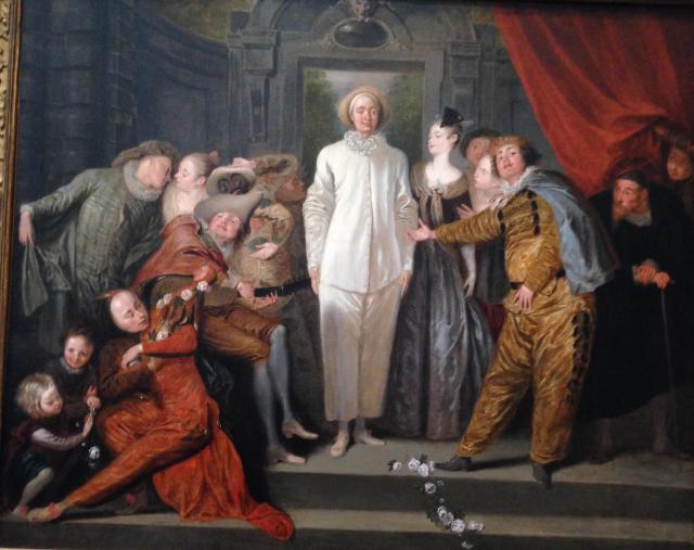 Watteau's Italian Comediens