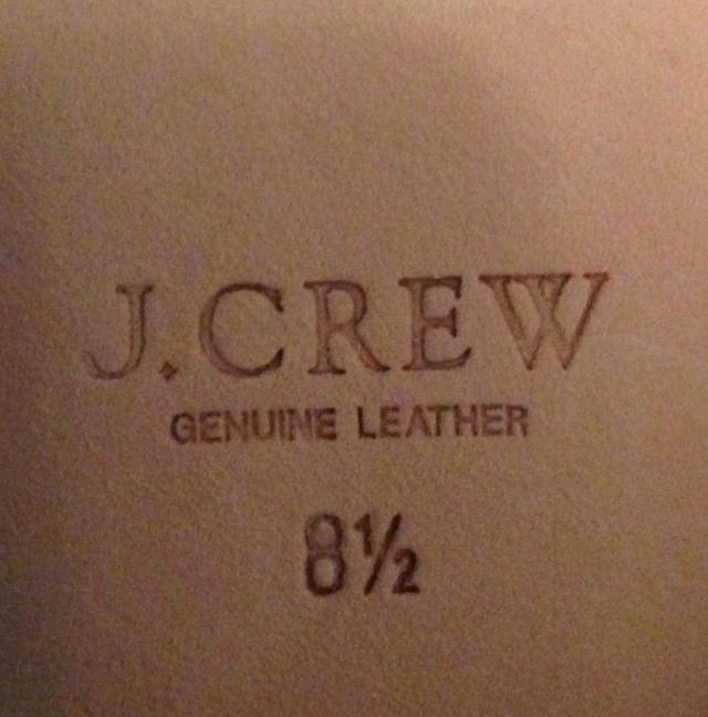 Genuine Leather. Stamp of my nasal approval