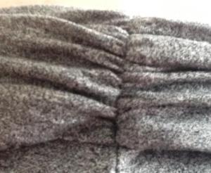 J. Crew gray maxi waistband