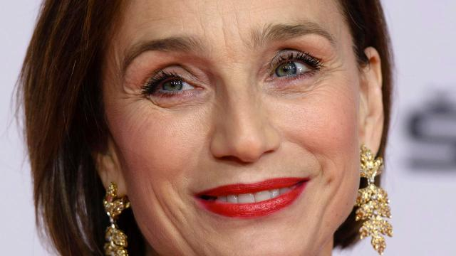 BERLIN, GERMANY - DECEMBER 07:  Kristin Scott Thomas attends the European Film Awards 2013 on December 7, 2013 in Berlin, Germany.  (Photo by Clemens Bilan/Getty Images)