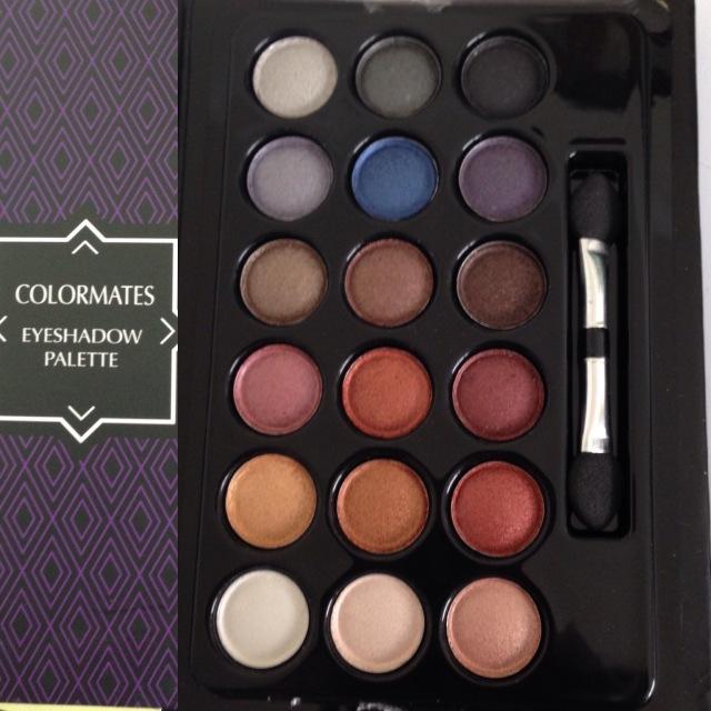 Makeup eyeshadow palette. Three bucks