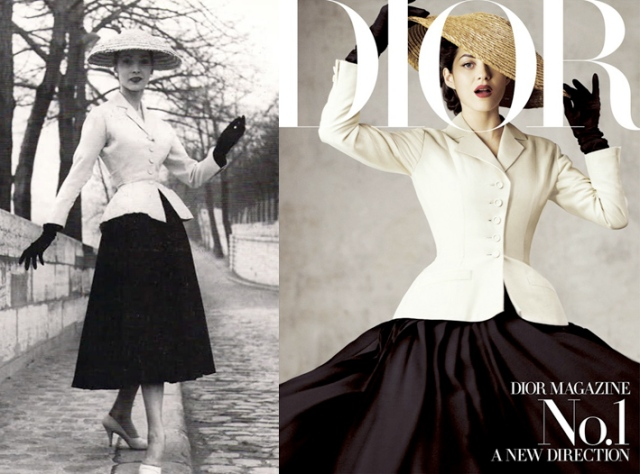 new-look Dior then and now