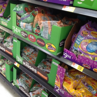 Walmart I found the easter candy