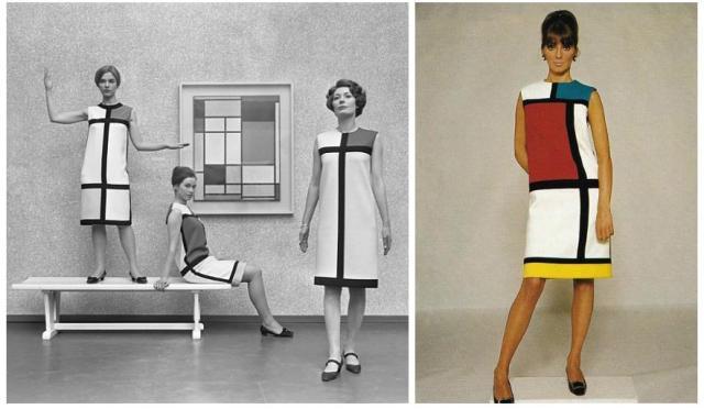 YSL 1965 Mondrian dress