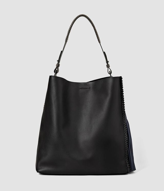 All Saints Pearl Tassel Hobo Bag