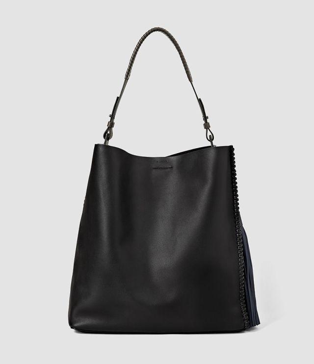 All Saints Pearl Tassel Hobo Bag