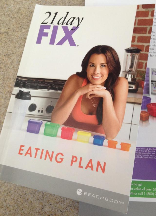 Eating plan book. Why is this one so happy