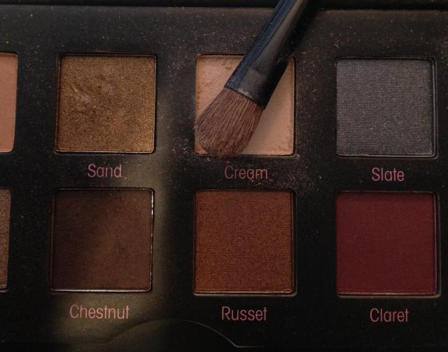 Mally Shadow palette cream