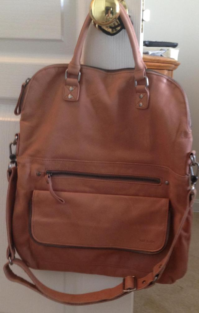Nat and Nin Caramel bag