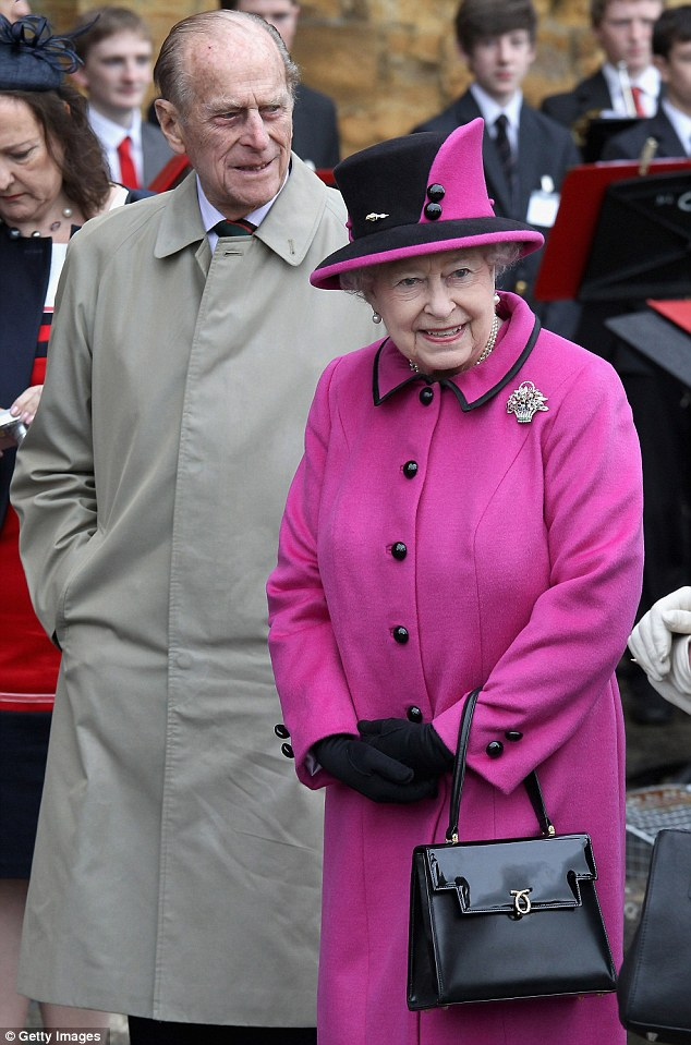 Queenie with old bag