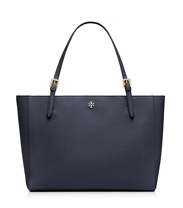 Tory Burch Large York Tote in Navy