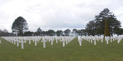 Grave at Normandy