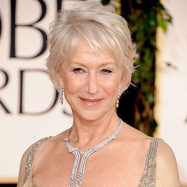 Short Bob Hairstyle For Women Over 60 Helen Mirren Atypical 60