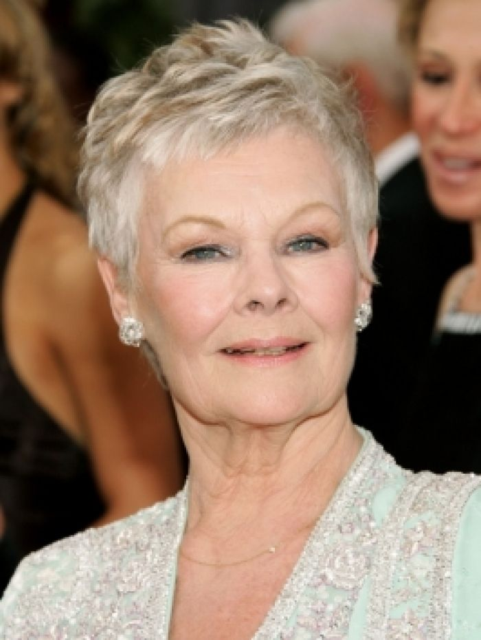 short,hairstyles,for,women,over,60,with,fine,hair Dench
