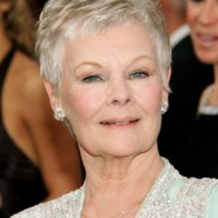 short-hairstyles-for-women-over-60-with-fine-hair Dench