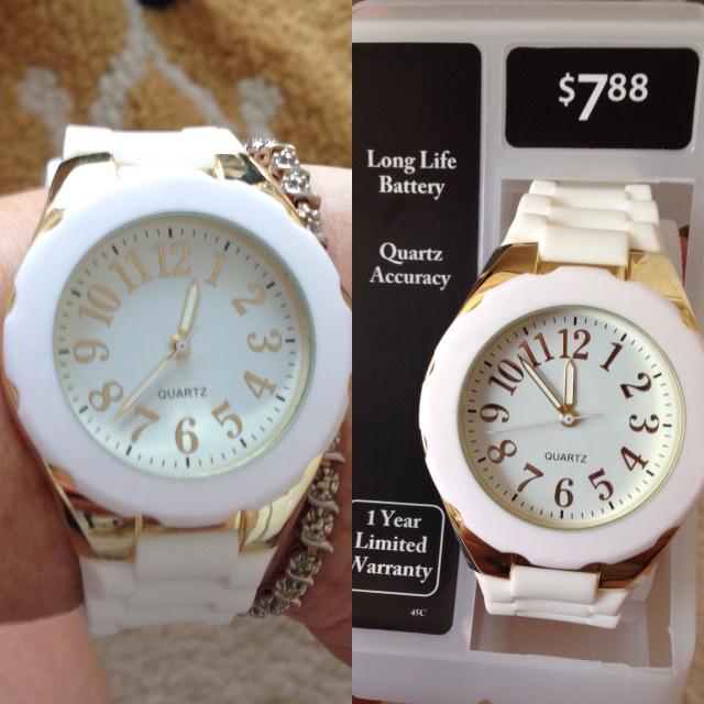 My cheap watch