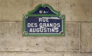 Rue-des-Grands-Augustins-Picasso Signs