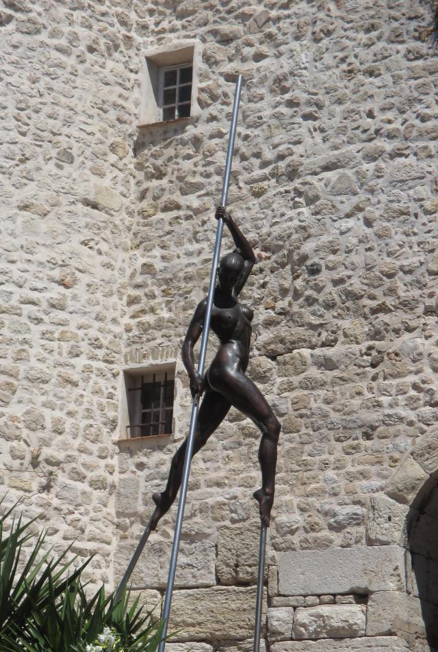 Antibes sculpture