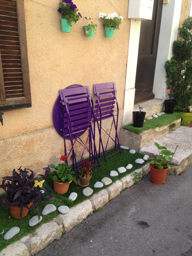 Cabris another shot of purple chairs