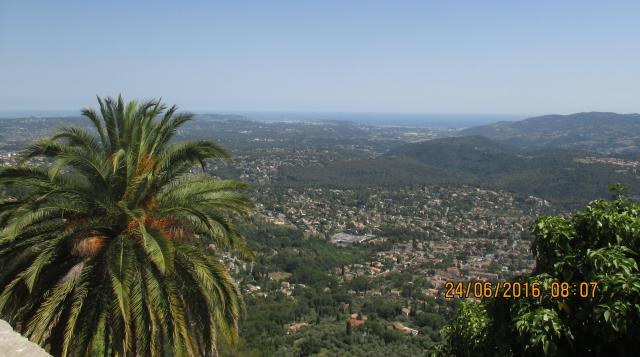 Cabris. View from above
