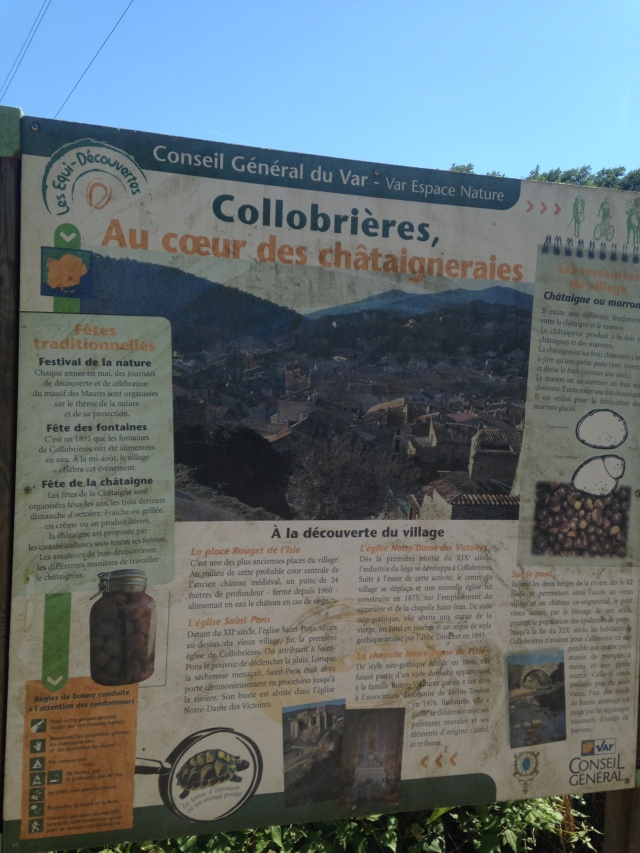 Collobrieres. Who knew it was the chestnut capital.