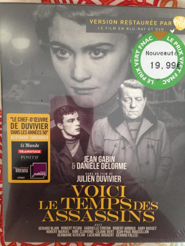 Danieles movie with jean gabin at FNAC