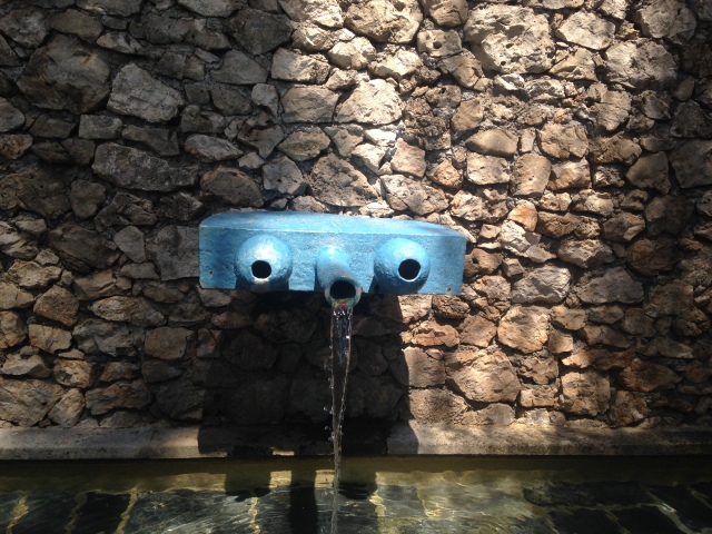 Fondation Maeght. Another cool fountain
