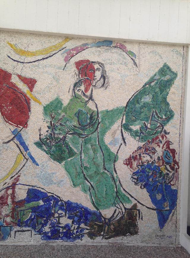 Fondation Maeght. Chagall and Shiplap. What could be better. BLOG GOLD
