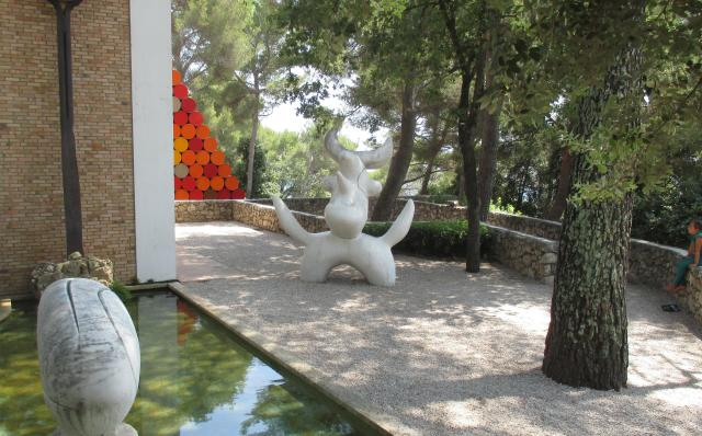 Fondation Maeght. More outside view
