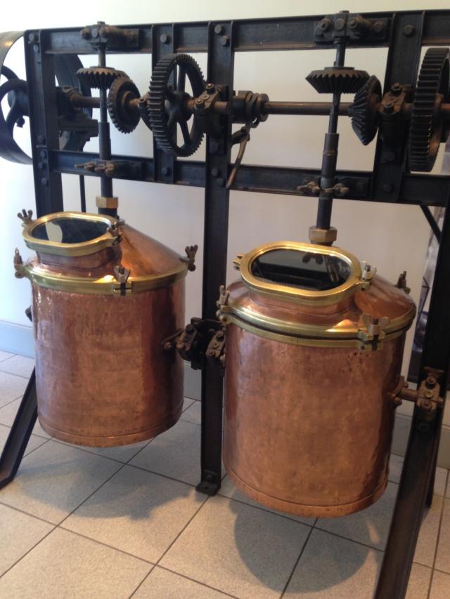 Grasse Fragonard vats