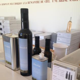 L'Estagnol. Leoube Olive oil.