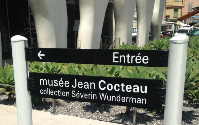 Menton. Musee Jean Cocteau. Severin collection exterior