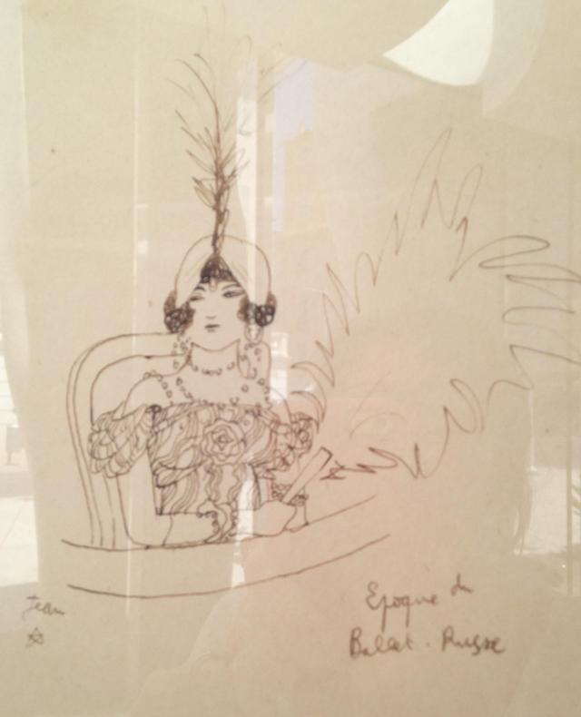 Menton. Musee Jean Cocteau. Sketch 2