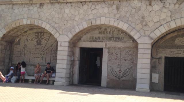 Menton. OLD Cocteau musee.