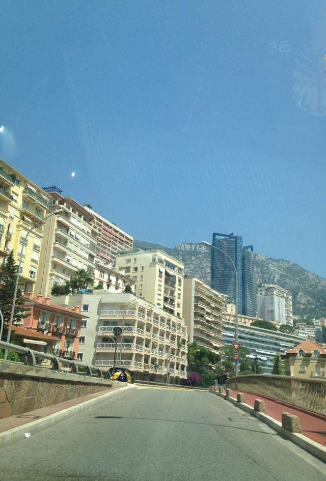 Menton. On the road to Monaco.