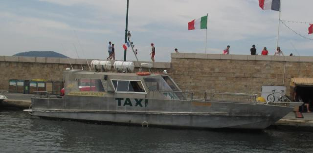 Old school water taxi