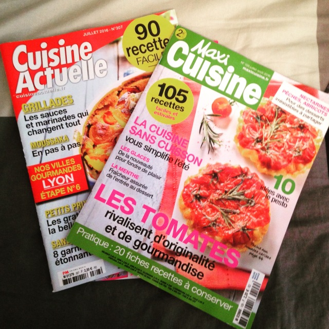 Shopping. Food Magazines with Recipes. BLOG GOLD.