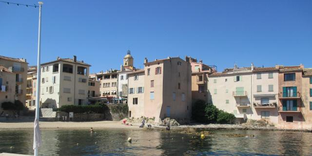 St. Tropez. first visit. La Ponche from the walkway