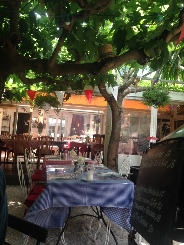 St. Tropez. La Ramade. I canot get enough of this resto.