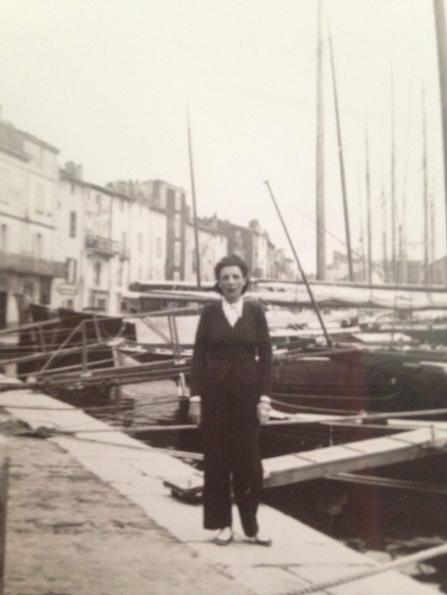 St. Tropez. Port.  Bonaparte's grandmother