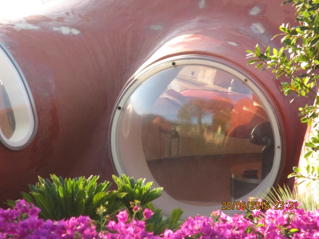 Theoule. Bubble House 2016 windows